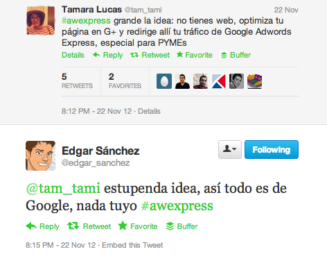 Debate sobre AdWords Express